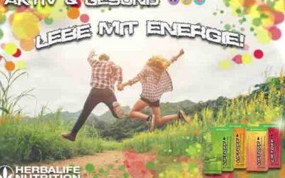 Herbalife – lebe mit Energie
