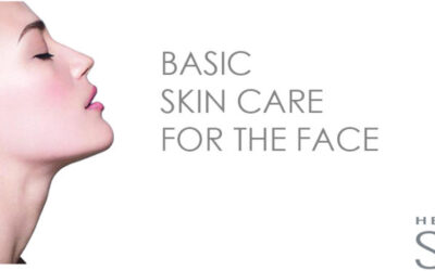 Basic skin care for the face