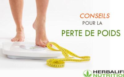 Conseils pour la perte de poids