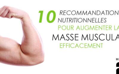 Augmenter la masse musculaire efficacement