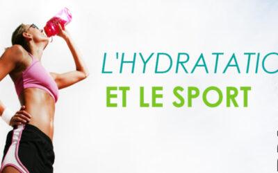 L'hydratation et le sport