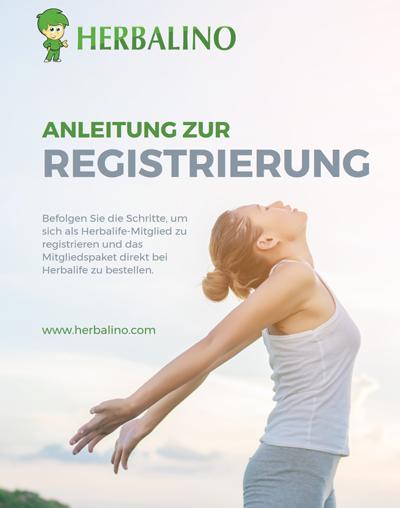 Anleitung zur Registrierung